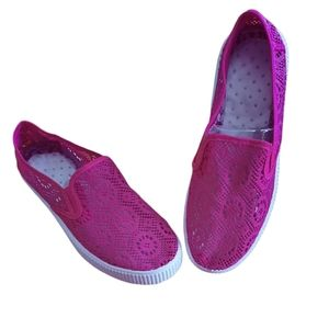 Sport Womens Hot Pink Flats/Loafers